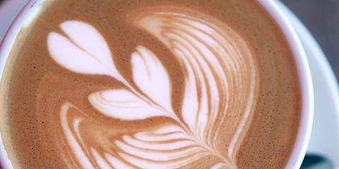 Cup, Serveware, Drinkware, Coffee cup, Espresso, Drink, Flat white, Single-origin coffee, Café, Coffee,