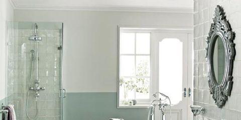 Plumbing fixture, Room, Architecture, Interior design, Floor, Property, Bathroom sink, Glass, Tile, Tap,