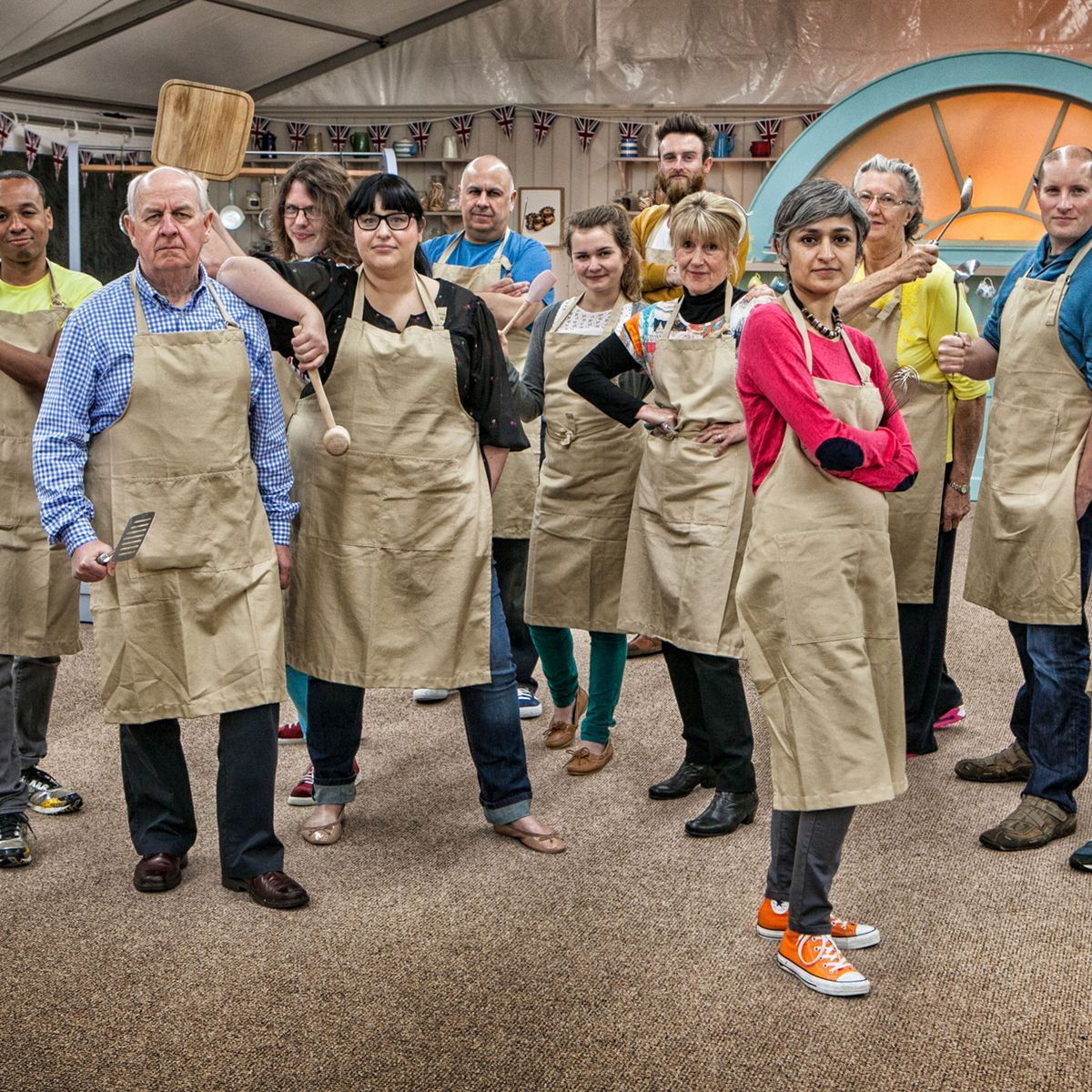 The Great British Bakeoff contestants: where are they now?