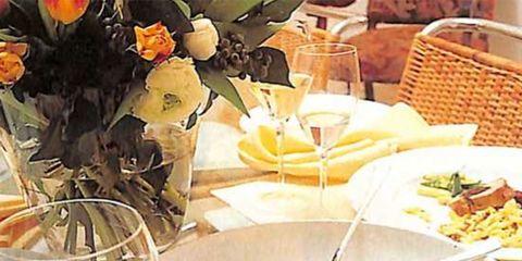 Yellow, Tableware, Stemware, Glass, Wine glass, Dishware, Champagne stemware, Serveware, Drinkware, Kitchen utensil,