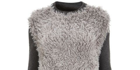 Product, Textile, Wool, Natural material, Woolen, Fashion, Neck, Black, Sweater, Grey,