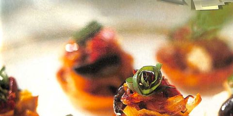 food, finger food, cuisine, dish, canapé, ingredient, appetizer, culinary art, garnish, recipe,