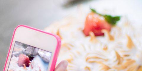 Finger, Sweetness, Food, Cuisine, Ingredient, Dessert, Baked goods, Cake, Whipped cream, Recipe,