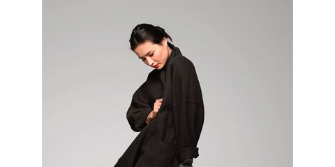 Clothing, Sleeve, Collar, Shoulder, Textile, Coat, Joint, Outerwear, Style, Formal wear,