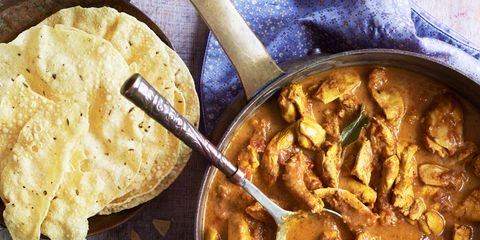 Food, Cuisine, Dish, Meal, Tableware, Recipe, Spoon, Stew, Curry, Plate,