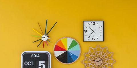 Colorfulness, Circle, Clock, Wall clock, Watch, Number, Home accessories, Square, Measuring instrument, Analog watch,