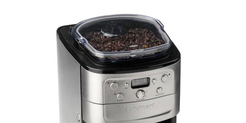 Product, Small appliance, Kitchen appliance, Home appliance, Major appliance, Machine, Kitchen appliance accessory, Silver, Coffee grinder,
