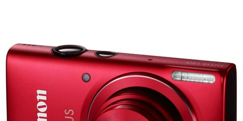Product, Camera, Lens, Electronic device, Digital camera, Cameras & optics, Red, Text, Photograph, Point-and-shoot camera,