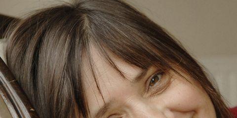 Lip, Smile, Cheek, Brown, Hairstyle, Chin, Forehead, Eyebrow, Eyelash, Facial expression,