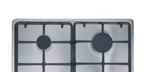 Product, Parallel, Circle, Kitchen appliance accessory, Rectangle, Square, Metal, Silver, Aluminium, Eye shadow,