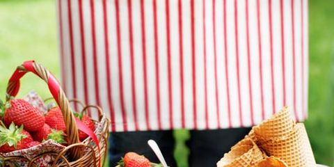 Food, Produce, Sweetness, Fruit, Natural foods, Basket, Strawberries, Ingredient, Dessert, Strawberry,