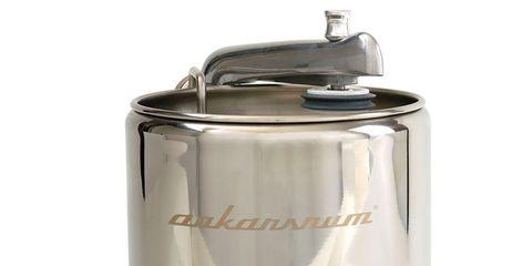 Metal, Machine, Gas, Cylinder, Silver, Kitchen appliance accessory, Lid, Steel, Aluminium, Tin,
