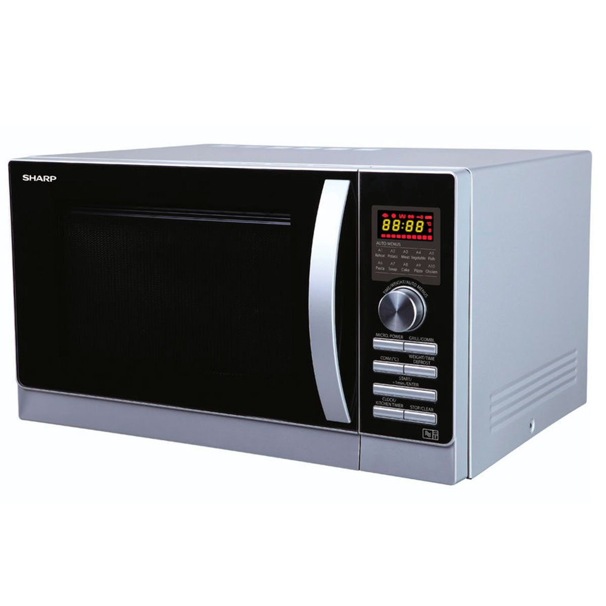Sharp R 842SLM Microwave review