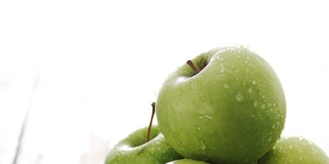 Green, Fruit, Produce, Natural foods, Vegan nutrition, Food, Ingredient, Whole food, Granny smith, Still life photography,