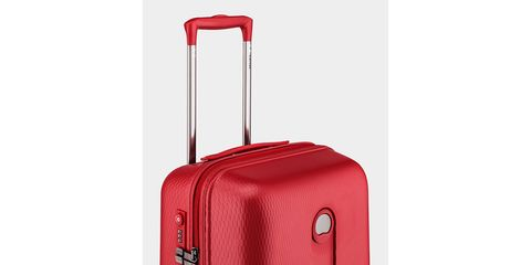 Product, Red, Line, Maroon, Baggage, Luggage and bags, Parallel, Grey, Composite material, Musical instrument accessory,