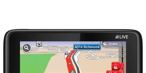 Display device, Gps navigation device, Electronic device, Technology, Electronics, Automotive navigation system, Font, Aircraft, Multimedia, Gadget,