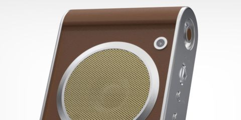 Audio equipment, Product, Brown, Electronic device, Technology, Gadget, Electronics, Metal, Output device, Rectangle,