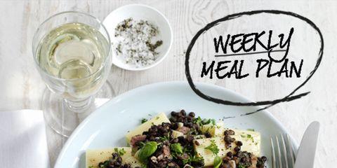 Food, Dishware, Serveware, Tableware, Cuisine, Recipe, Plate, Ingredient, Leaf vegetable, Salad,