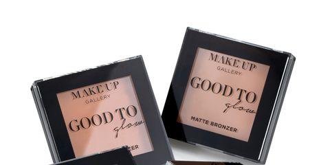Product, Cosmetics, Font, Beauty, Black, Eyelash, Eye shadow, Material property, Peach, Rectangle,