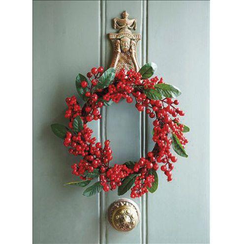 How to make a Christmas wreath - Christmas craft