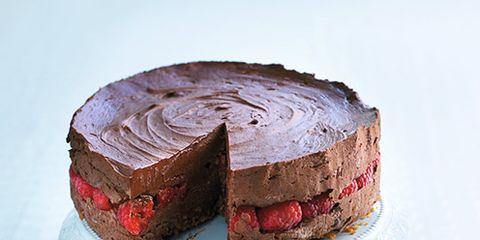 Food, Cuisine, Cake, Ingredient, Dessert, Sweetness, Baked goods, Dishware, Plate, Serveware,