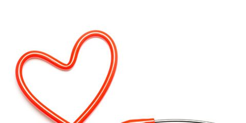 Red, Line, Metal, Circle, Coquelicot, Heart, Aluminium, Silver, Steel, Nickel,