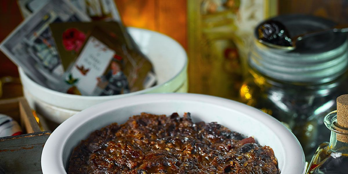 Christmas pudding recipe: Rum and plum Christmas pudding recipe