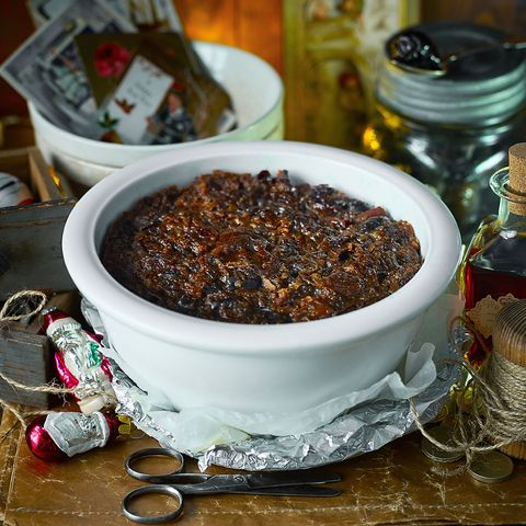 Christmas pudding recipe: Rum and plum Christmas pudding recipe