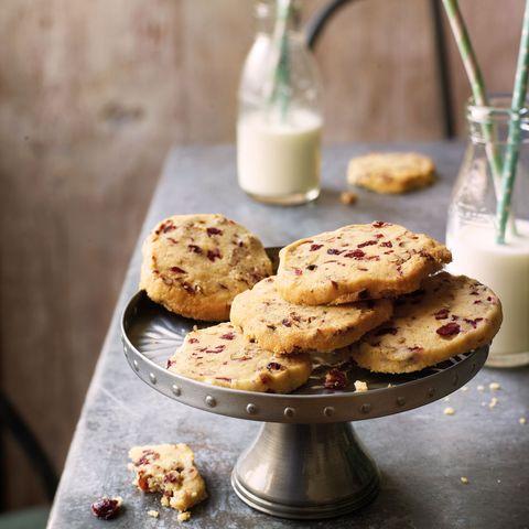 best biscuit and cookie recipes pecan and cranberry freezer cookies