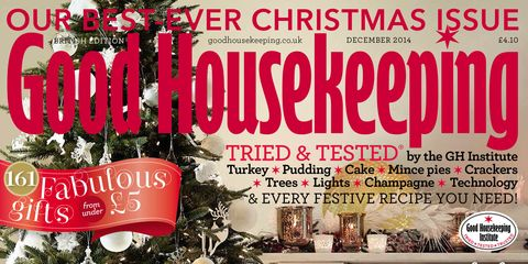 snap up the december issue of good housekeeping our best ever christmas issue - Best Christmas Deals 2014