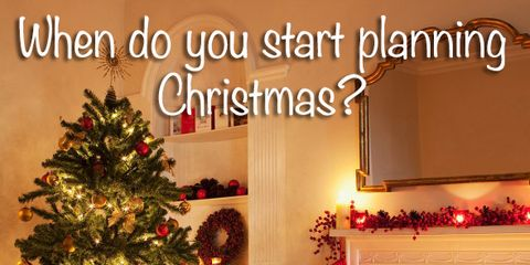 when do you start the christmas countdown how early is too early for christmas decorations these are just a few of the festive questions we asked you