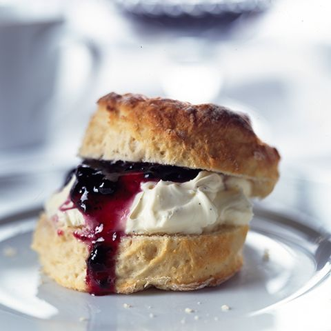Mary Berry settles the controversial scone debate - but do