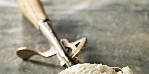 Food, Ingredient, Cuisine, Dough, Dairy, Tool, Blade, Ice cream, Hand tool, Masa,