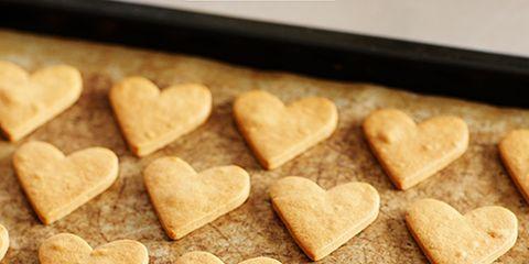 Cuisine, Finger food, Food, Heart, Love, Baked goods, Snack, Recipe, Sweetness, Vegetarian food,