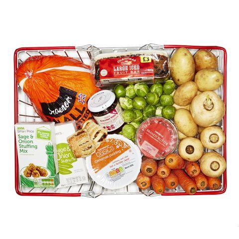 Christmas Dinner Budget Basket 2014