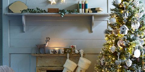 image - Fireplace Christmas Decorations