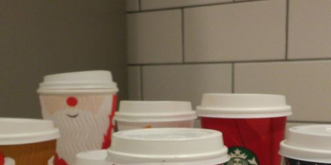 Drinkware, Carmine, Plastic, Lid, Cup, Coquelicot, Tumbler, Cup, Cylinder, Coffee cup sleeve,