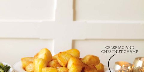 best christmas side dishes celeriac and chestnut champ