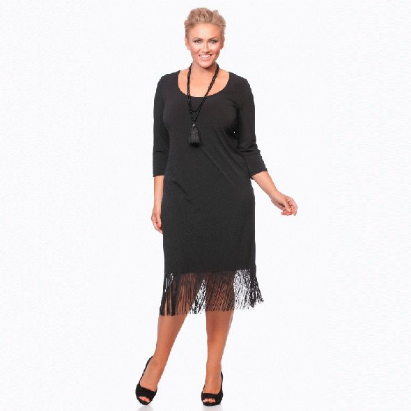 The Little Black Dress For Curvy Women Party Style