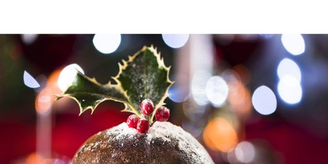 Serveware, Dishware, Food, Sweetness, Dessert, Ingredient, Christmas pudding, Plate, Snack, Pudding,