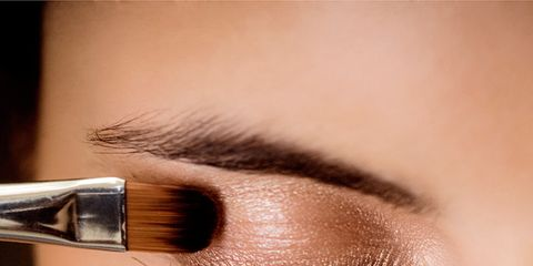 Brown, Skin, Eyelash, Eyebrow, Eye shadow, Style, Amber, Organ, Eye liner, Iris,