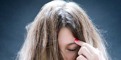 Finger, Lip, Hairstyle, Hand, Wrist, Long hair, Beauty, Blond, Brown hair, Step cutting,