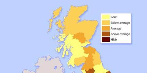 Blue, Yellow, Colorfulness, White, Orange, Line, Amber, World, Electric blue, Map,