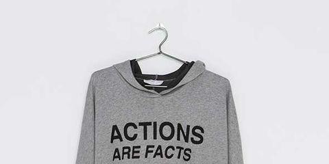 Product, Sleeve, Text, White, Style, Carmine, Logo, Fashion, Neck, Black,
