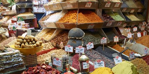 Ingredient, Public space, Food, Bazaar, Marketplace, Retail, Spice mix, Market, Whole food, Trade,