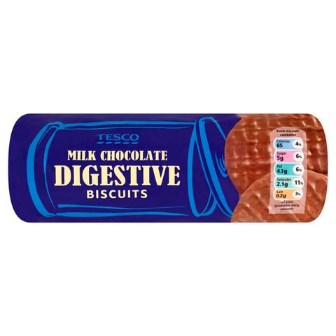 Label, Rectangle, Electric blue, Convenience food, Snack, Junk food, Trademark,