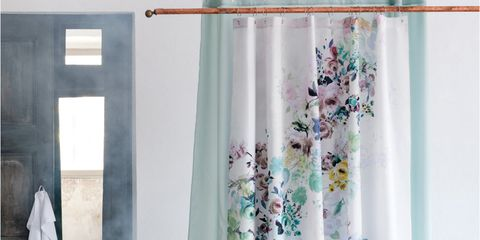Blue, Textile, Room, Interior design, Teal, Aqua, Turquoise, Interior design, Window treatment, Lavender,