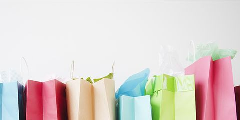 Pink, Magenta, Rectangle, Paper bag, Paper product, Plastic, Packing materials, Paper, Shopping bag,