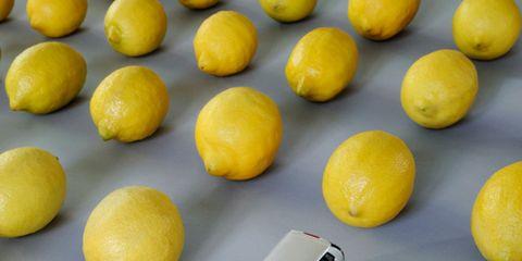 Yellow, Lemon, Citrus, Fruit, Toy, Produce, Automotive parking light, Meyer lemon, Natural foods, Citric acid,