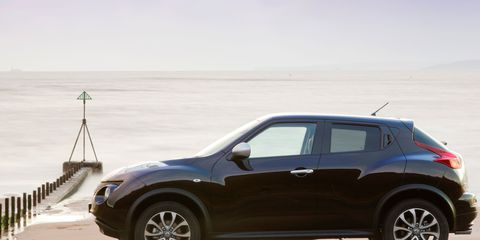 The Juke Certainly Stands Out From Crowd With Its Sporty Shape Wheels Bold Front Lights And Hidden Rear Door Handles It S Same Inside Where